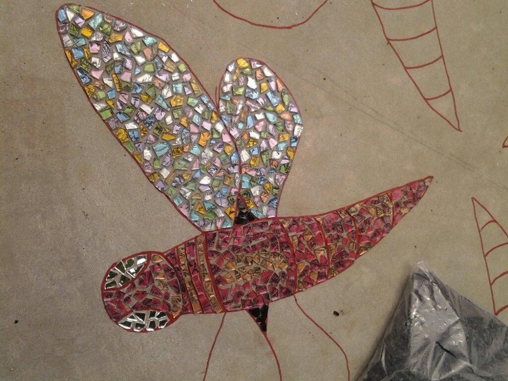 Dragonflies in Flight  (6/6)